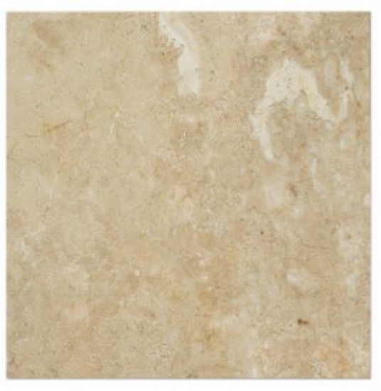 12 in. x 12 in. Bursa Beige Standard Solid Polished Finish Marble Flooring Tile