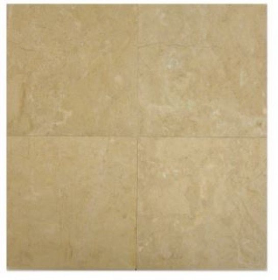 12 in. x 12 in. Bursa Rose Solid Polished Finish Marble Flooring Tile
