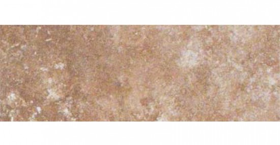 Travertino Walnut 3 in. x 12 in. Glazed Matte Porcelain Bullnose