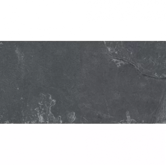 Montauk Black Slate 3x6 Subway Tile