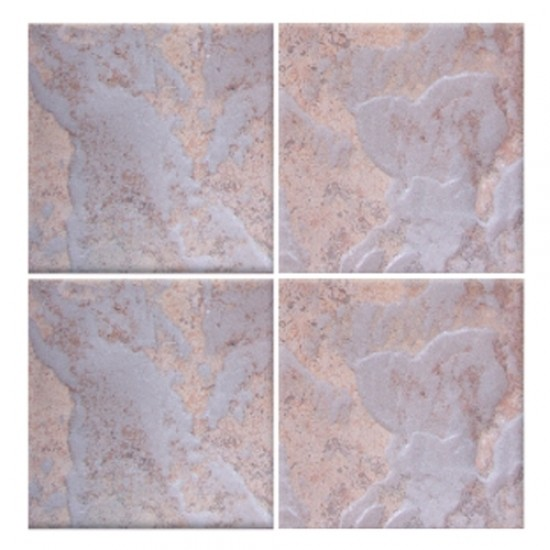 Earthscapes Canyon Copper Glossy Glazed 6x6 Porcelain Tile for Pool, Wall and Backsplash