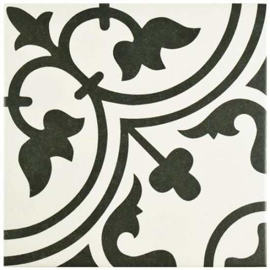 Classica Matte White Square 9-1/2 in. x 9-1/2 in. Porcelain Floor and Wall Tile (10.76 sq. ft. / case)