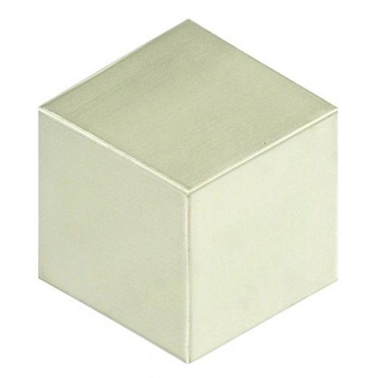 Cotton Matte Square 8-3/4 in. x 8-3/4 in. Porcelain Floor and Wall Tile