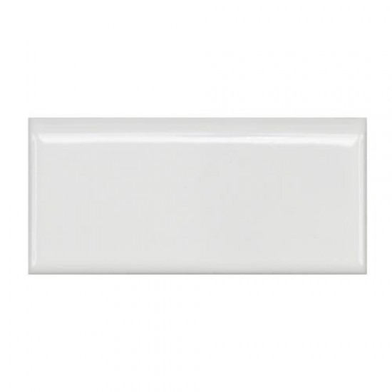 Cityside Bullnose Glossy Pearl 1-3/4 in. x 3-3/4 in. x 5 mm Porcelain Floor and Wall Trim Tile (12-Pack)