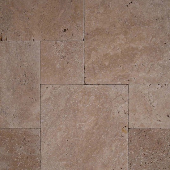 16 in. x 16 in. Coliseum Tumbled Travertine Paver Tile (Each Tile = 1.78 Sqft.)