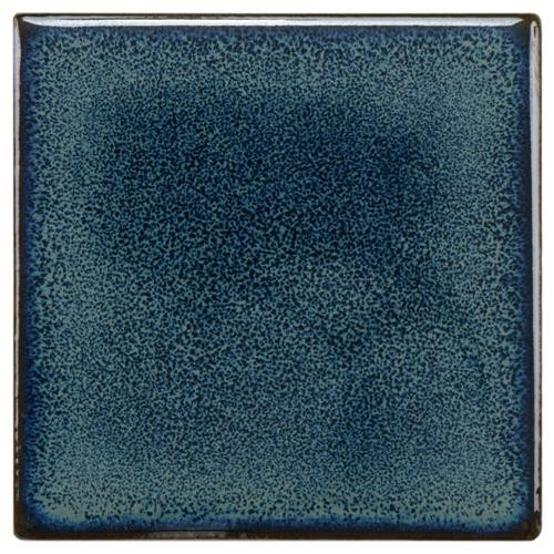 Audubon Glossy Aegean Square 4 in. x 4 in. Ceramic Floor and Wall Tile