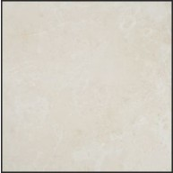 12 in. x 12 in. Botticino Pearl Solid Honed Finish Marble Flooring Tile
