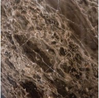 12 in. x 12 in. Emperador Café Solid Polished Finish Marble Flooring Tile