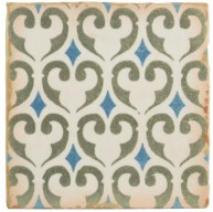 Madrid Matte Print Square 4-7/8 in. x 4-7/8 in. Ceramic Floor and Wall Tile (5.9 sq. ft. / case)