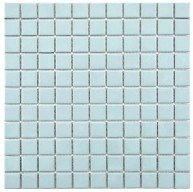 Cityside Matte Sapphire Square Pattern 12 in. x 12 in. x 5 mm Porcelain Mosaic Tile (10 sq. ft. / case)