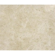 12 in. x 12 in. Opel Beige Solid Polished Finish Square Pattern Marble Flooring Tile