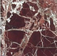 12 in. x 12 in. Rosso Levanto Solid Polished Finish Marble Flooring Tile