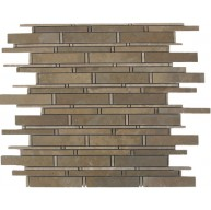 Bamboo Desert Sand Polished Mosaic Tile by Soci