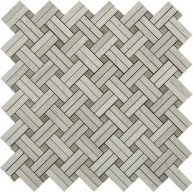 Marquette Trellis Pattern Polished Mosaic Tile by Soci