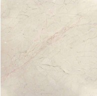 18 in. x 18 in. Crema Marfil Classic Solid Polished Finish Marble Flooring Tile (Each Tile = 2.25 Sqft.)