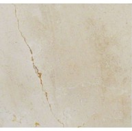 18 in. x 18 in. Crema Marfil Select Solid Polished Finish Marble Flooring Tile (Each Tile = 2.25 Sqft.)
