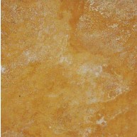 12 in. x 12 in. Tuscany Gold Solid Honed & Filled Finish Travertine Flooring Tile