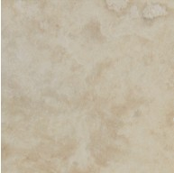 12 in. x 12 in. Tuscany Ivory Light Solid Honed & Filled Finish Travertine Flooring Tile