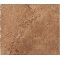 12 in. x 12 in. Tuscany Noce Solid Honed & Filled Finish Travertine Flooring Tile