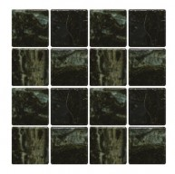 Yes Series Dark Green Glossy Glazed 3x3 Porcelain Mosaic Tile for Pool, Wall and Backsplash