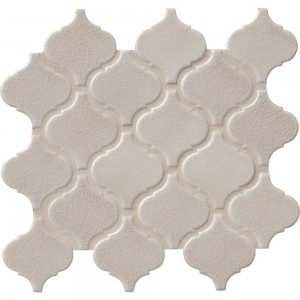 Fog Arabesque 6mm Ceramic Mosaic Tile