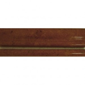 Inca gold marble 3/4x12 chair rail decorative molding polished bullose trim