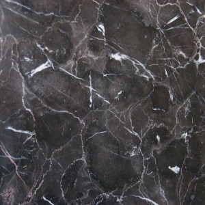 12 in. x 12 in. Laurent Brown Solid Polished Finish Marble Flooring Tile