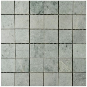 Ming Green Marble Polished 2x2 Mosaic Tile for Floor and Walls