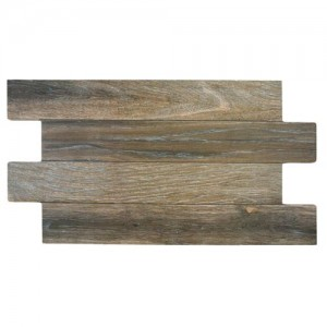Wood Matte Rectangular 12-1/4 in. x 23-5/8 in Roble Porcelain Floor and Wall Tile (16.6 sq. ft. / case)