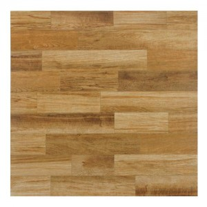 Tawny Glossy Square 17-3/4 in. x 17-3/4 in.Caoba Ceramic Floor and Wall Tile (17.63 sq. ft. / case)