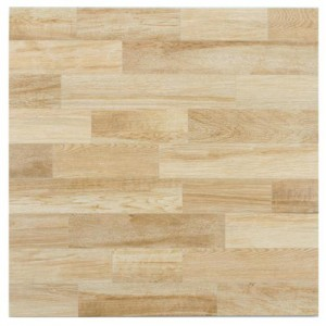 Linen Glossy Square 17-3/4 in. x 17-3/4 in. Haya Ceramic Floor and Wall Tile (17.63 sq. ft. / case)