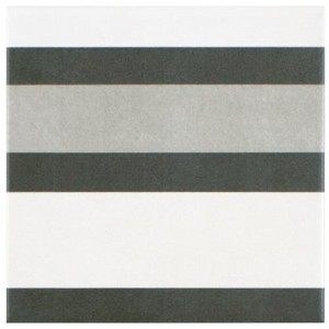 Edmund Frame Matte Multi Square 7-3/4 in. x 7-3/4 in. Ceramic Floor and Wall Tile