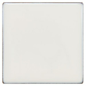 Audubon Glossy White Square 4 in. x 4 in. Ceramic Floor and Wall Tile