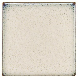Audubon Glossy Linen Square 4 in. x 4 in. Sand Ceramic Floor and Wall Tile (2.42 sq. ft. / case)