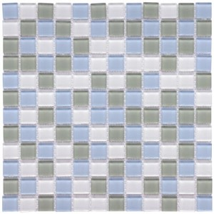 Multi Mixed Fresh Square 11-3/4 in. x 11-3/4 in. x 4 mm Glass Mosaic Wall Tile