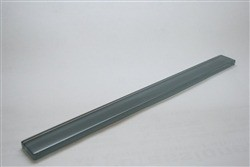 Vessel eclipse grey 1 x 12 glass pencil molding trim
