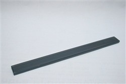 Dark slate 1 x 12 glass pencil molding trim