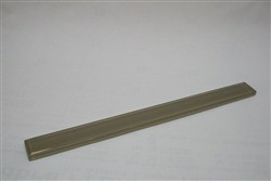 Silver spring 1 x 12 glass pencil molding trim