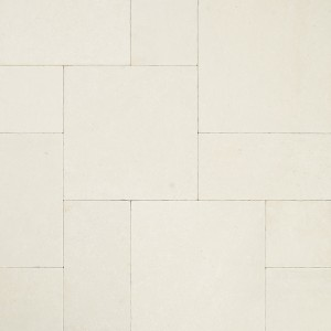 16 in. x 24 in. Monaco Cream Tumbled Limestone Paver Tile (Each Tile = 2.67 Sqft.)