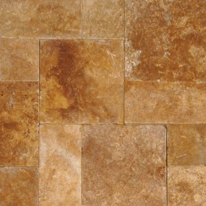 16 in. x 16 in. Tuscany Riviera Tumbled Travertine Paver Tile (Each Tile = 1.78 Sqft.)