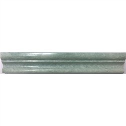 Ming Green Marble Onyx 2x12 Polished Chair Rail Molding