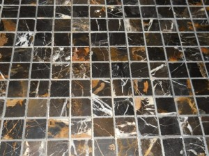 Michelangelo Michael Angelo Marble Square Pattern Tiles Polished Mesh Mounted Mosaic