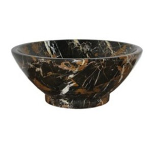 14 in. Round Michael Angelo Marble Style Drop In Bathroom Sink
