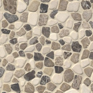 Mix Marble Pebbles Tumbled 10mm Mosaic Tile