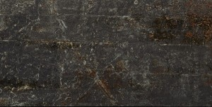 12 X 24 Cast Iron Black Natural Porcelain Field Tile by Soci (12 Sq.Ft. per box)