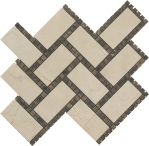 Victoria Blend Manhattan Polished Mosaic Tile by Soci