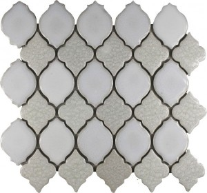Oxford Blend Valencia Pattern Polished Mosaic Tile by Soci
