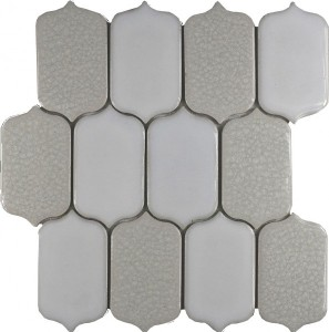 Oxford Blend Picket Pattern Mosaic Tile