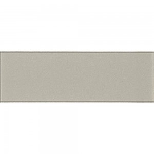 Starlight Beige 4x12 Subway Glossy Glass Wall Tile