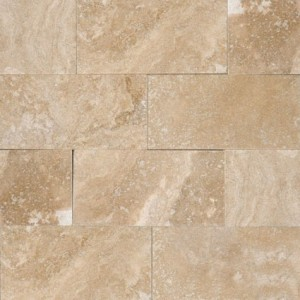 3x6 Tuscany Ivory Travertine Subway Pattern Honed Tile